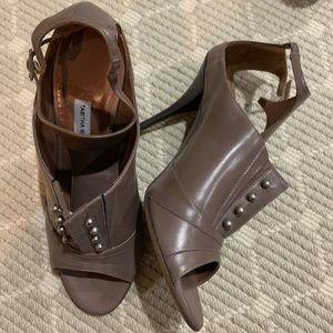 Tabitha Simmons Open-toe Booties